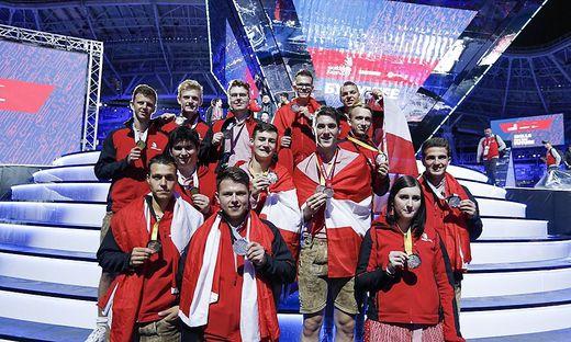 Glänzendes Team Austria in Kasan