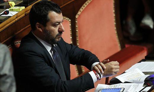 Der italienische Innenminister und Lega-Chef Matteo Salvini