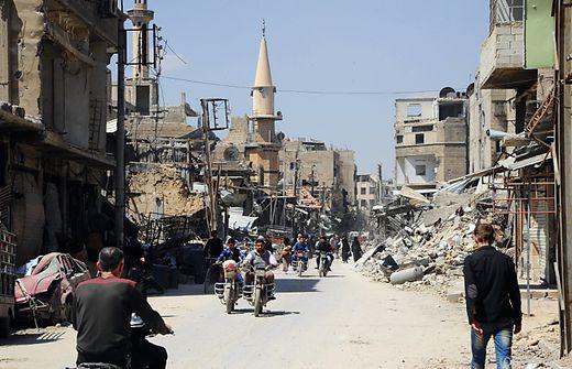 Syrien-Konflikt: Russland warnt vor Flüchtlingswelle