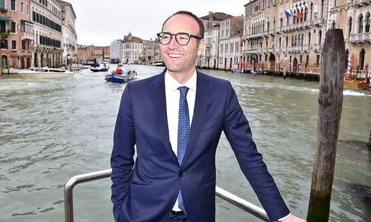 Federico Caner, Tourismuslandesrat der Region Veneto