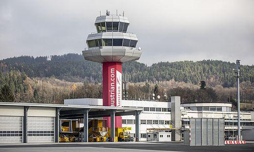 Flughafen Klagenfurt November 2019