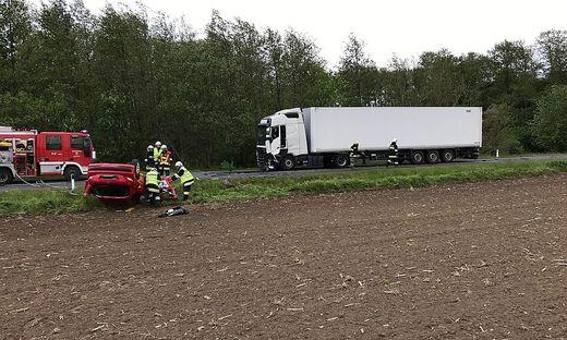 Der Lkw-Lenker blieb unverletzt