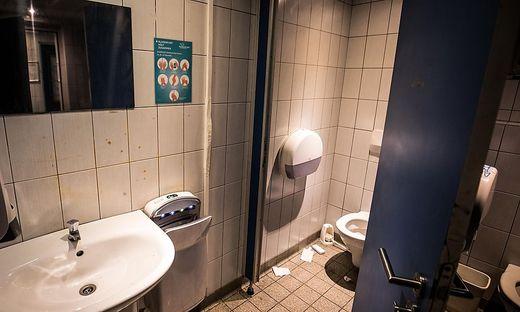 WC Anlage neben Europahaus Klagenfurt; reitschulgasse