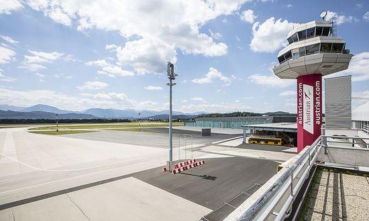 Flughafen Klagenfurt Juni 2018