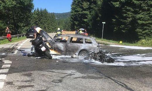 Bei dem Unfall Ende Juni auf der Soboth kam ein 24-jähriger Motorradlenker ums Leben