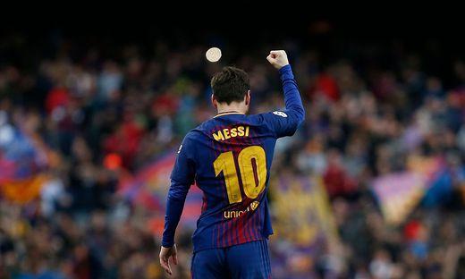 Wieder Papa: Lionel Messi im Baby-Glück