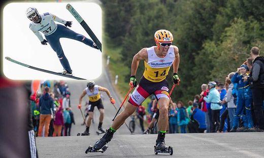 Kommt immer besser in Fahrt: Thomas Jöbstl. Heimspiel auch für Philipp Orter (links)