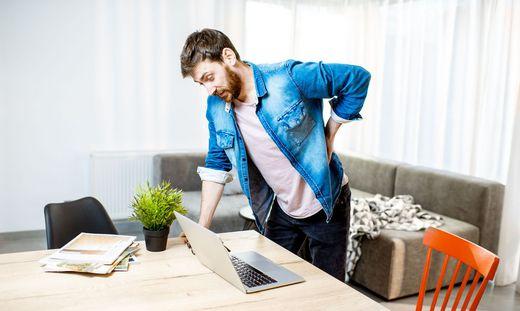 Homeoffice: So bekommt man Rückenschmerzen in Griff