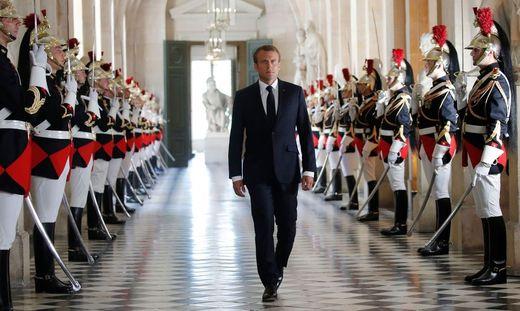 Frankreichs Präsident Emmanuel Macron kann sich im Parlament nicht mehr auf eine absolute Mehrheit stützen