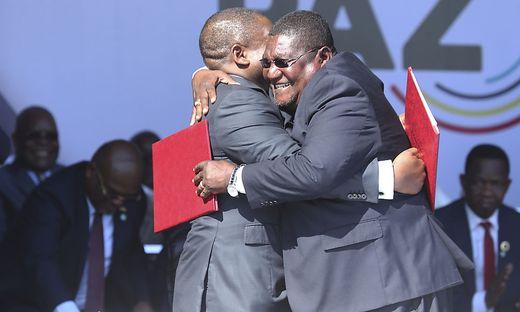 Mosambik: Historischer Friedensvertrag unterzeichnet