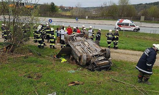 Unfall nahe der A2
