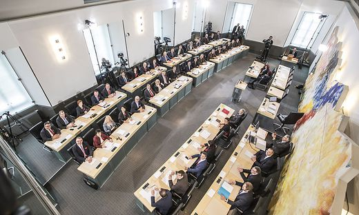 Konstituierende Sitzung des Kaerntner Landtages - Klagenfurt April 2018