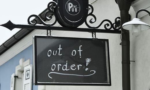 Die Gastronomie könnte noch bis Oster geschlossen bleiben