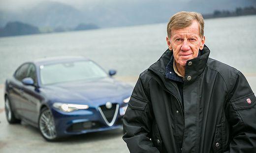 Walter Röhrl über die neue Giulia