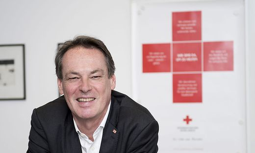 Michael Opriesnig ist Generalsekretär des Roten Kreuzes