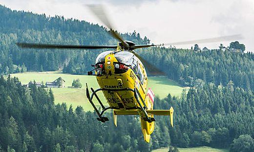 Per Hubschrauber wurde der Biker nach Deutschland überstellt, wo er nun verstarb