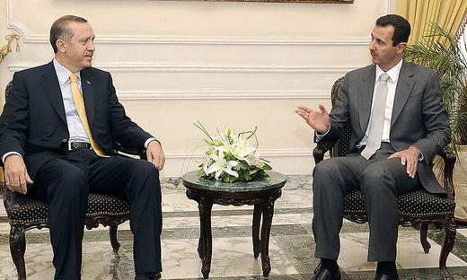 Bashar Assad, Recep Tayyip Erdogan