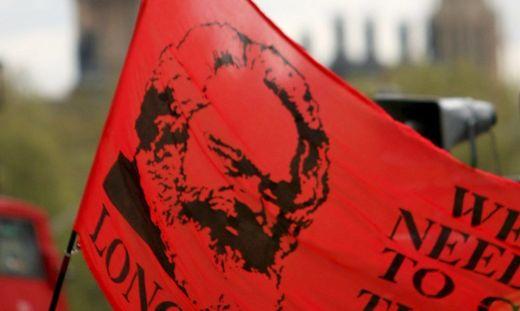 Karl Marx-Flagge