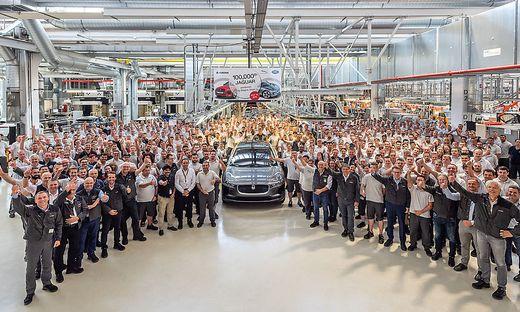 Der 100.000. Jaguar aus Graz