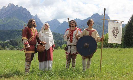 "Die Gruppe ""La Fara"" aus Cividale verkörpert Langobarden"