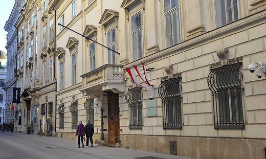 Das Innenministerium in Wien