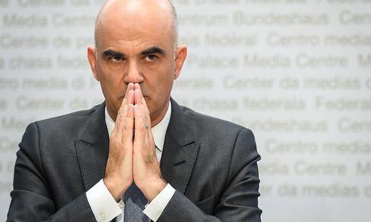 Der Schweizer Gesundheitsminister Alain Berset