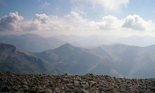 Archivbild: Lawinenabgang an schottischem Berg Ben Nevis - zwei Tote