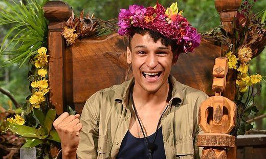 Prince Damien holte sich die Dschungelkrone