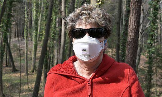 Maskenpflicht auch im Gemeindewald Neuseiersberg