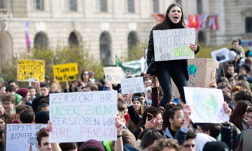 Die Proteste wie hier in Wien laufen schon seit Monaten