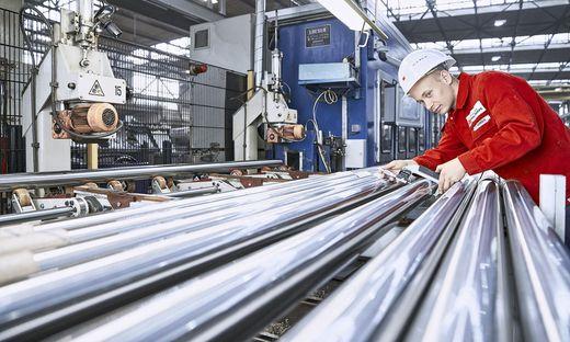 450 Mitarbeiter beschäftigt die Stahl Judenburg heute