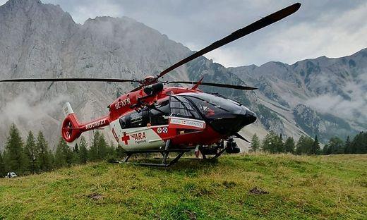 Die Crew des RK 1 flog den Verletzten ins Klinikum