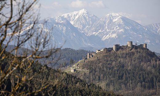 Sujet Sujetfotos Griffen Gemeindeamt Landschaft Burg Wetter April 2021