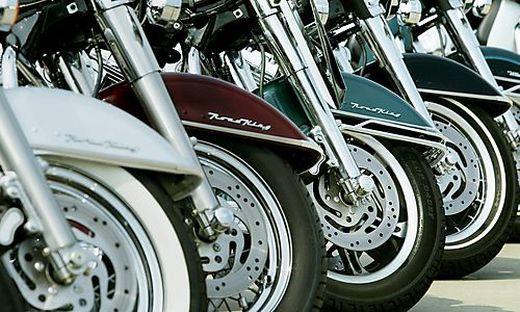 Der Wiener war mit acht weiteren Bikern unterwegs