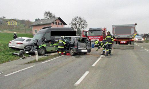 Beim Unfalleinsatz