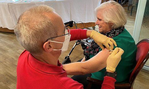 Impfung im Heim