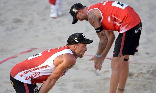 Enttäuschung bei Alexander Horst (links) und Clemens Doppler
