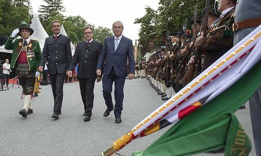 ++ HANDOUT ++ TIROL: VERLEIHUNG DES GROSSEN TIROLER ADLER ORDENS AN DEN SCHEIDENDEN EU-KOMMISSIONSPRAeSIDENTEN JUNCKER