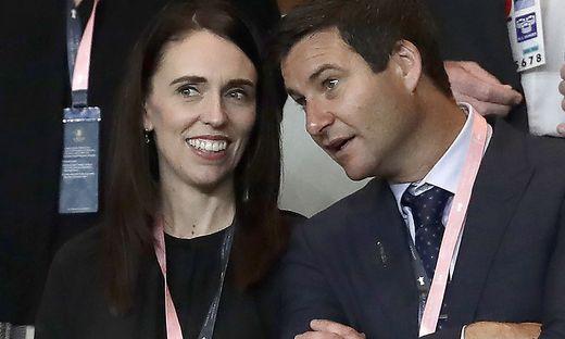 Es ist soweit Adern und ihr Verlobter Clarke Gayford