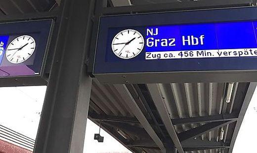 Nightjet Zürich nach Graz