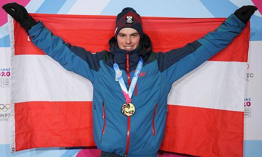 Jugend-Olympiasieger Philip Hoffmann