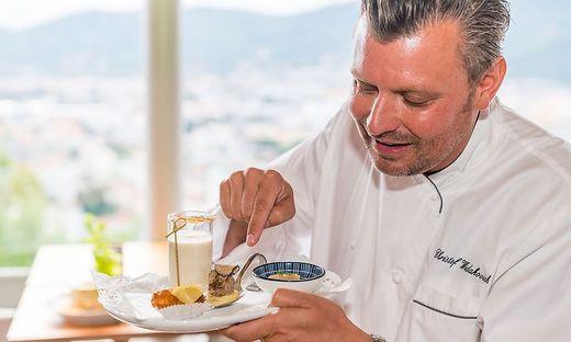 Christof Widakovich muss Schloßbergrestaurant für drei Wochen zusperren