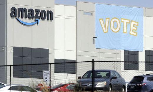 In Alabama wird derzeit versucht, eine Gewerkschafts-Vertretung bei Amazon zu installieren