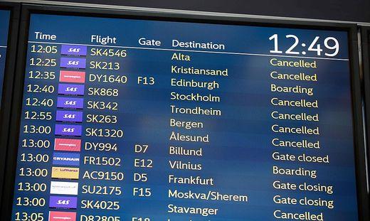 Flugausfälle: SAS-Piloten im Streik