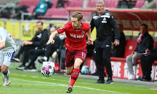 Florian Kainz blieb mit Köln erstklassig