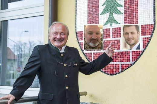Erster Schritt zur Wachablöse in Premstätten gelungen: Pokorn rechts folgt auf Schmölzer als VP-Chef. Bürgermeister Scherbinek kriegt seinen designierten Wunschnachfolger