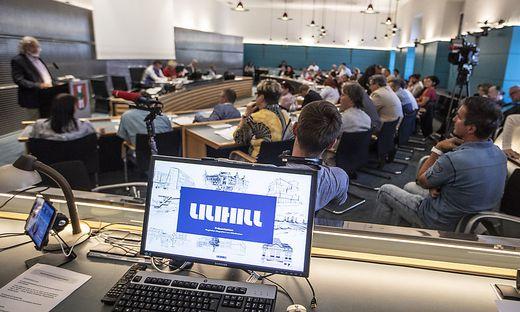 Gemeinderat Klagenfurt Flughafen Franz Peter Orasch lilihill Juni 2018