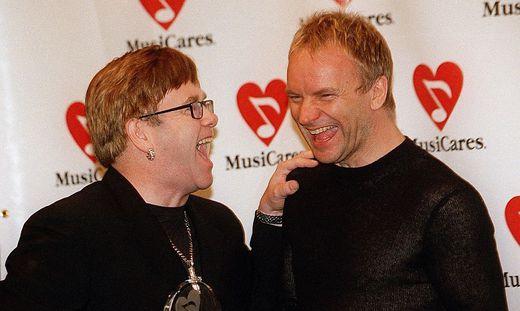 Elton John und Sting haben hoffentlich auch in Graz eine Hetz