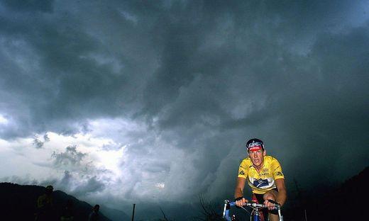 Umgeben von einem dunklen Geheimnis gewann Amstrong sieben Tour-de-France-Titel