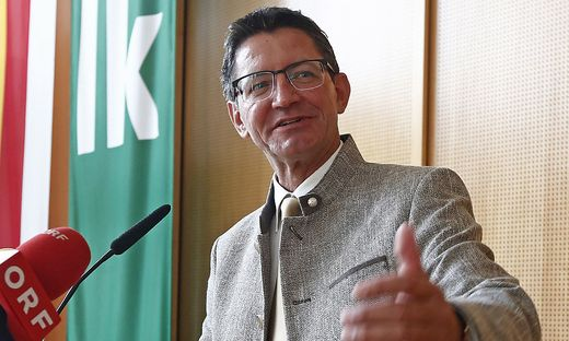 Siegfried Huber ist der neue Präsident der Kärntner Landwirtschaftskammer
